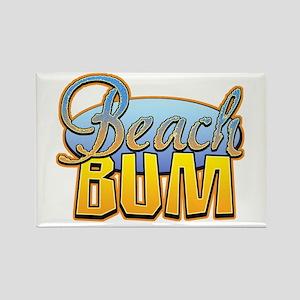 Beach Bum Rectangle Magnet