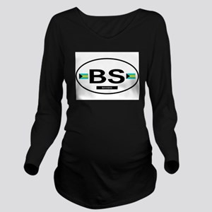 BAHAMAS Long Sleeve Maternity T-Shirt
