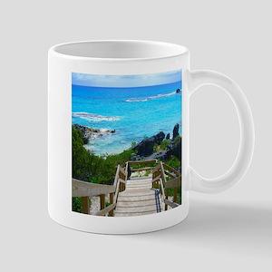 Church Bay Bermuda Tropical Beach Mugs