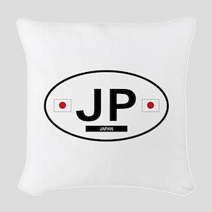 JAPAN Woven Throw Pillow