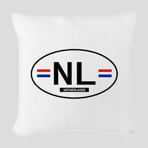 NETHERLANDS Woven Throw Pillow