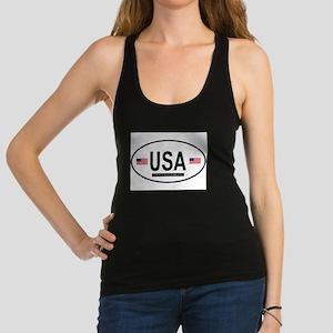USA.png Racerback Tank Top