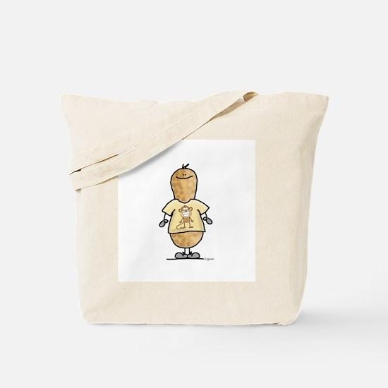 Monkey Nut Tote Bag