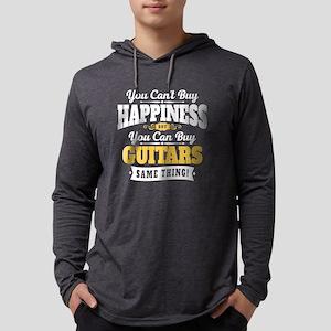 Guitar Happiness Mens Hooded Shirt
