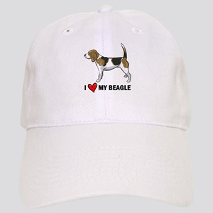 I Heart My Beagle Cap