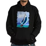 Sailboat Dark Hoodies