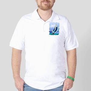 Sailing Away copy Golf Shirt