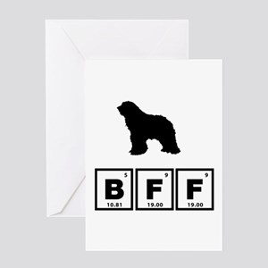 Bergamasco Sheepdog Greeting Card