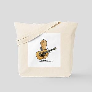 Guitar Nut Tote Bag