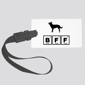 Australian Kelpie Large Luggage Tag