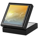 Sunset in the Clouds Keepsake Box