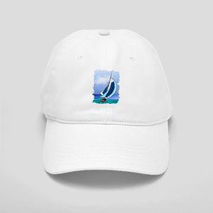 Sailing Away Baseball Cap