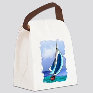Sailing Away Canvas Lunch Bag