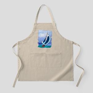Sailing Away Apron