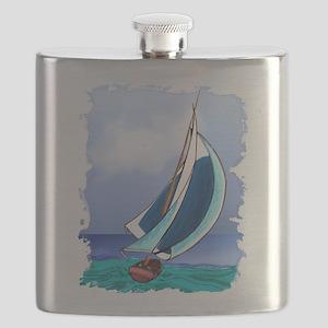 Sailing Away Flask