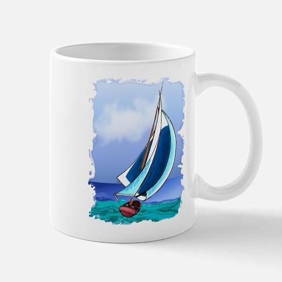 Sailing Away Mugs