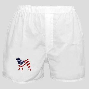Patriotic Pug - Boxer Shorts