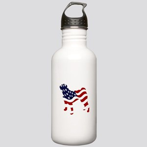 Patriotic Pug - Stainless Water Bottle 1.0L