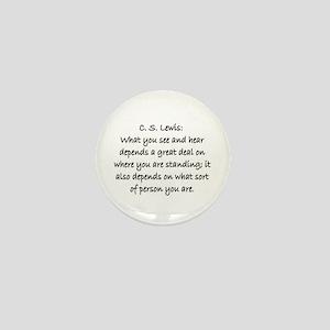 C.S. LEWIS QUOTE Mini Button