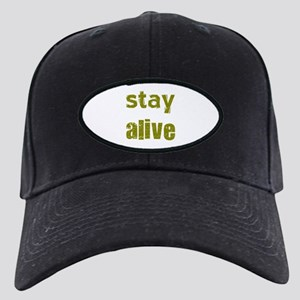 Stay Alive Black Cap