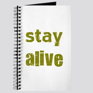 Stay Alive Journal