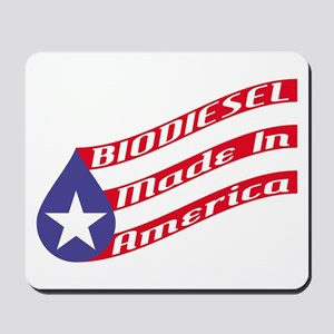 Biodiesel Flag Mousepad