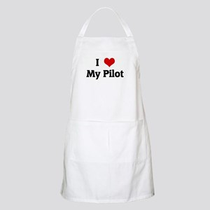 I Love My Pilot BBQ Apron