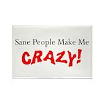 Crazy Rectangle Magnet (100 pack)