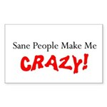 Crazy Rectangle Sticker