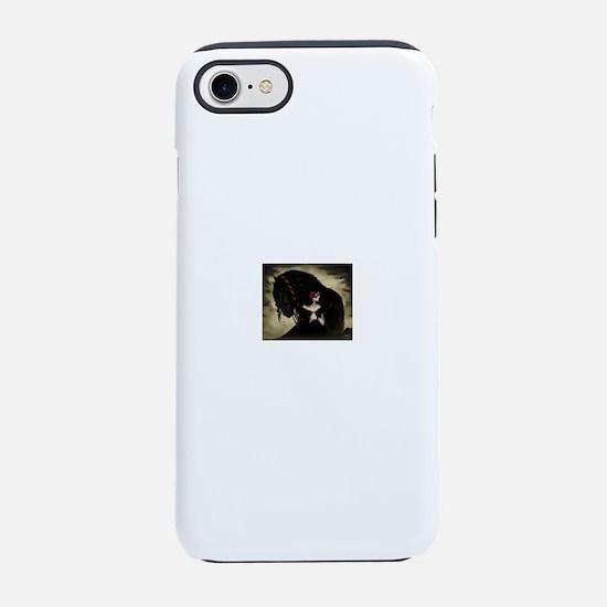 black horse iPhone 7 Tough Case