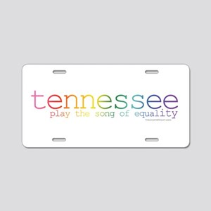 Tennessee equality song tsp Aluminum License Plate