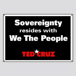 Sovereignty Resides - Ted Cruz Quote Banner