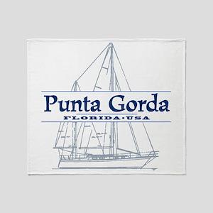 Punta Gorda - Throw Blanket