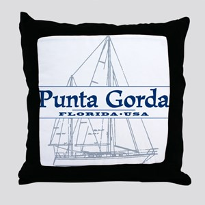 Punta Gorda - Throw Pillow