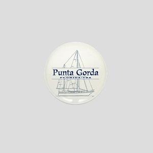 Punta Gorda - Mini Button