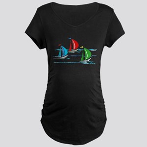 Yacht Race copy Maternity T-Shirt