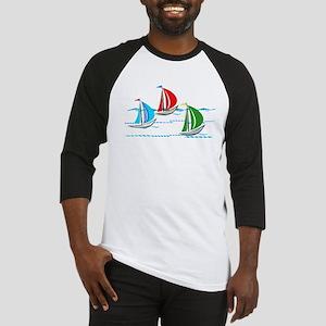 Yacht Race copy Baseball Jersey