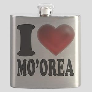 I Heart Moorea Flask