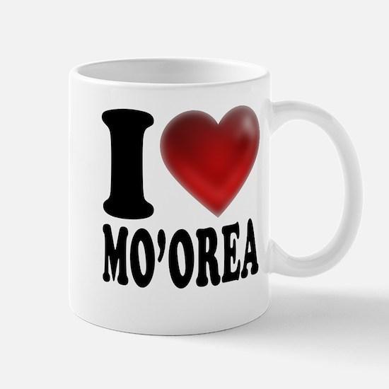 I Heart Moorea Mugs