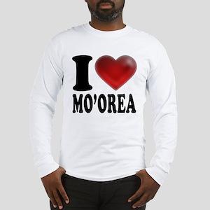 I Heart Moorea Long Sleeve T-Shirt