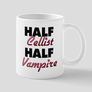 Half Cellist Half Vampire Mugs