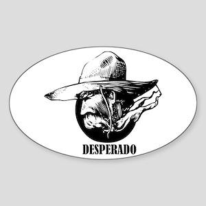 Desperado Oval Sticker
