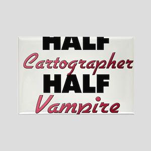 Half Cartographer Half Vampire Magnets