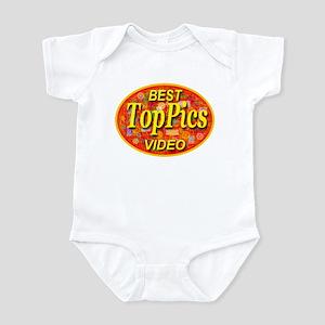 Toppics Best Video Golden Opa Infant Bodysuit
