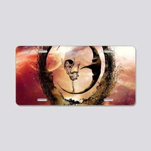 Dancing on the moon in the night Aluminum License