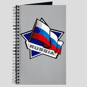 """Russia Star Flag"" Journal"