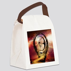 Dancing on the moon in the night Canvas Lunch Bag