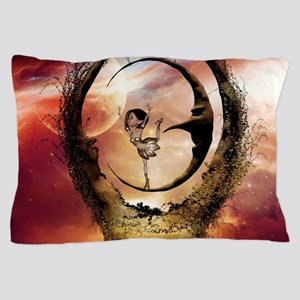 Dancing on the moon in the night Pillow Case