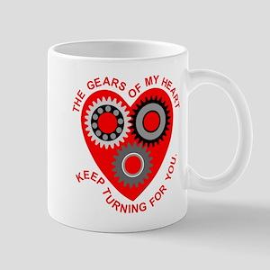 Valentine Heart Gears Mug