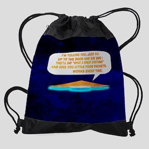 Halloween Lesson Drawstring Bag